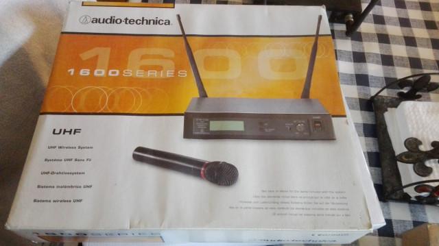 SISTEMA INALÁMBRICO AUDIO-TECHNICA ATW-R160