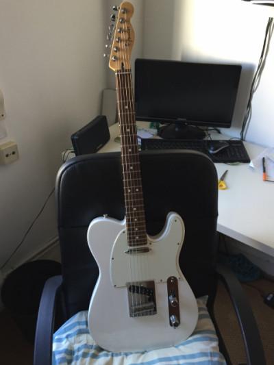 Fender tele mex (Cambio)