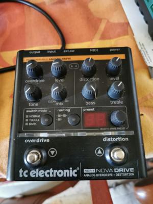 Pedal Nova Drive de TC Electronic