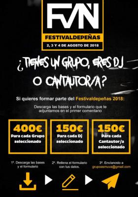 Festivaldepeñas 2018