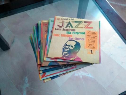 COLECCIÓN LOS GRANDES DEL JAZZ (100 LP ) EXCELENTE ESTADO - SARPE