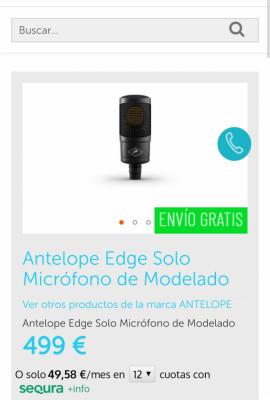 Antelope Edge Solo