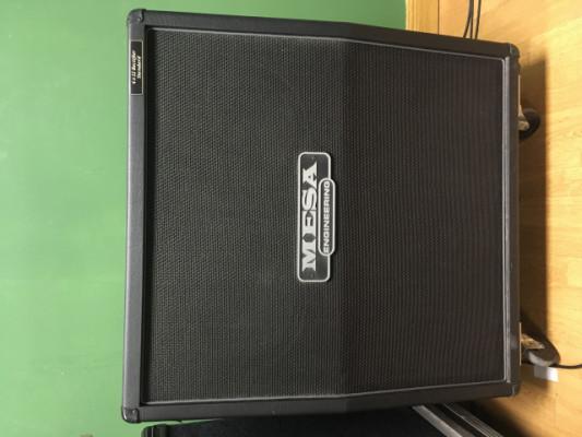 Pantalla Mesa Boogie 4x12 angulada