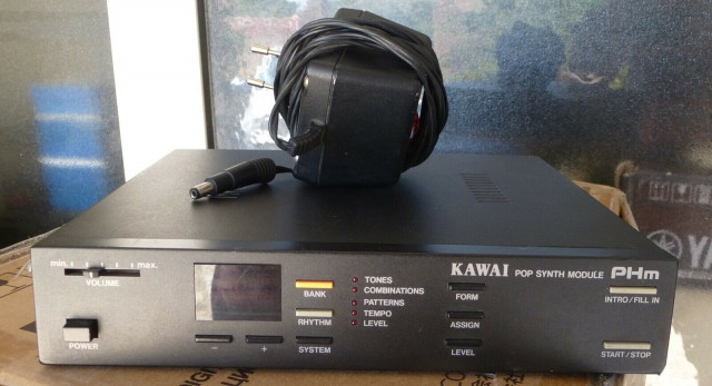 Módulo expander MIDI Kawai PHM. Kawai K1 compacto