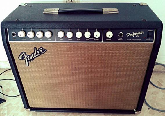 RESERVADO Amplificador Fender Performer 65 USA customizado y con pedal de cambio