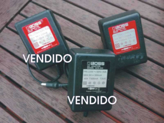 BOSS ACA-220 Y PSA-220. JAPAN. (adaptador, fuente, transformador)