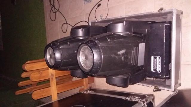 4 Cabezas moviles 575 wash