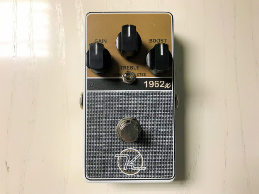Keeley 1962X 2-Mode Overdrive (tipo JTM45)