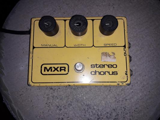 Pedal chorus mxr