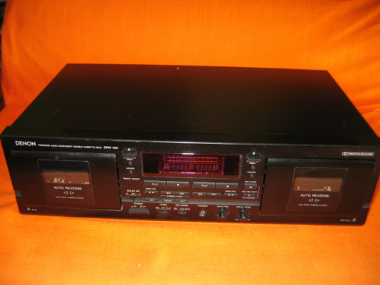 Denon  DRW-580 Doble Pletina Cassette