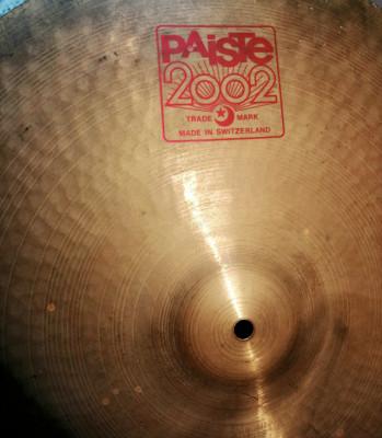 Plato Paiste 2002 Ride 20''