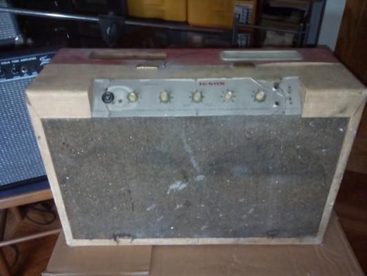 """Amplificafor de los 50/60 con dos 10"""" auténtico sonido vintage"""
