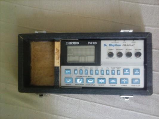 (RESERVADO) Caja de ritmos analógica Boss DR 110