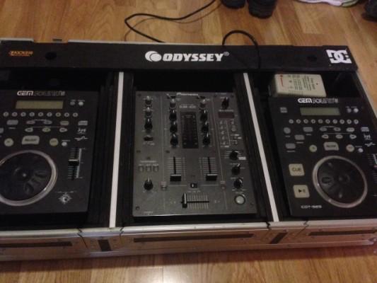 Djm 400 Cds Gemsound y case Odyssey