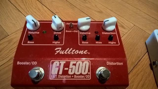 Distorsión - Booster Fulltone GT-500