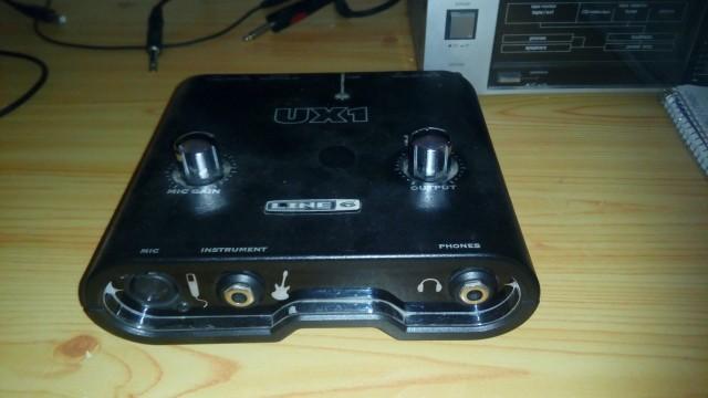 UX1 de Line6 USB Tarjeta audio externa