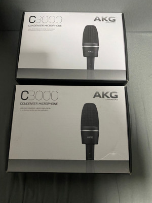 2 unidades AKG C3000