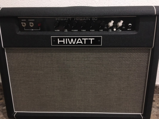 HIWATT HI-GAIN 50W válvulas MADE IN UK