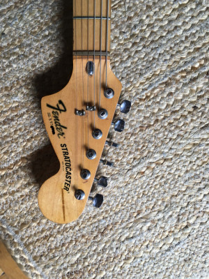 Fender Stratocaster made in U.S.A. 1979 hardtail