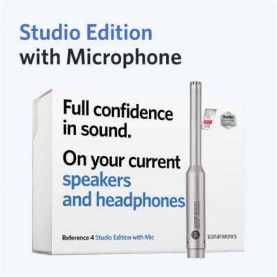 Reference 4 Edición de estudio con micrófono