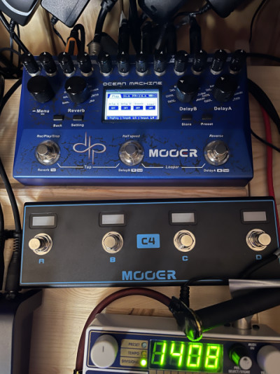 Mooer Ocean + Airswitch