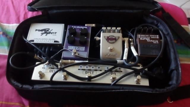pedalboard y pedales