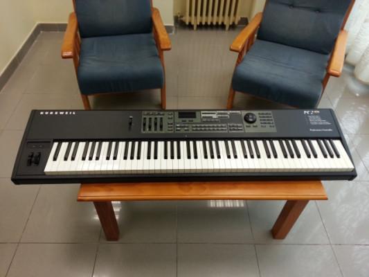 Kurzweil PC2X 88 + extra ROM Orchestral + extra 128 polyphony