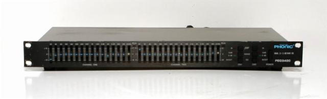PHONIC PEQ 3400 - Equalizer Pro