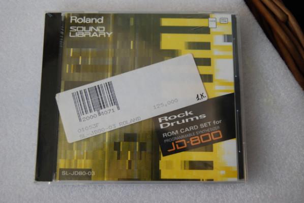 Roland Rom Card set para JD800 .