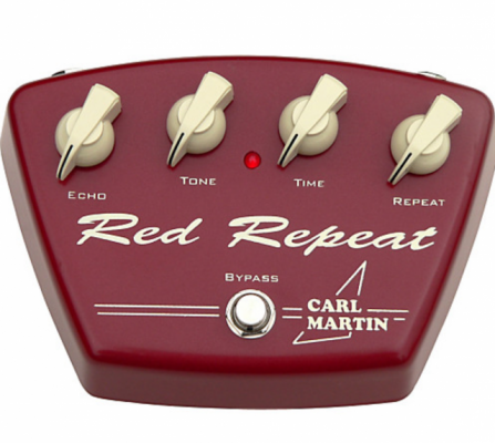 Carl Martín Red Repeat delay