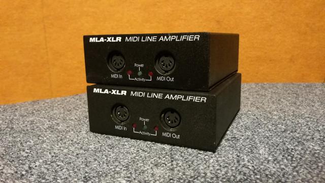Amplificador de línea MIDI