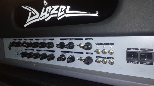 DIEZEL D-MOLL+FLIGHT CASE+PANTALLA