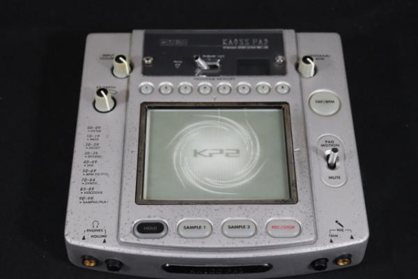 Korg KAOSS PAD MK2 metálico maquina de multi efectos,