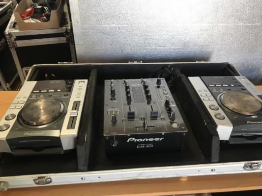 PIONEER DJM 400 + 2X CDJ 200