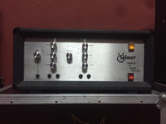 Amplificador de válvulas Selmer 50W