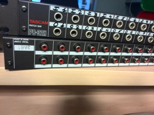 Patch panel tascam