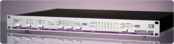 Apogee Rosetta 800 192kHz 8-Channel AD/DA Conversor - REBAJADO -