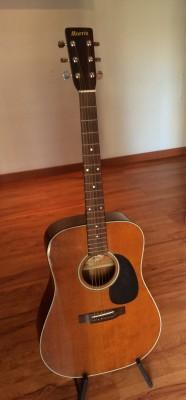 Guitarra acústica morris mod w19 made in japan