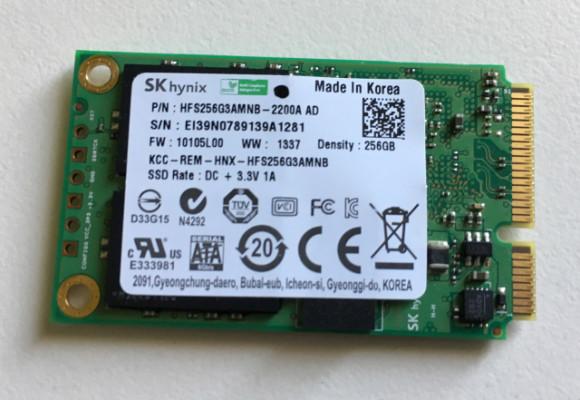 SSD 256GB SK Hynix / Dell mSATA