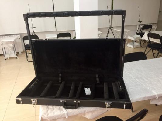 Soporte para 7 guitarras ROCKSTAND RS20851B