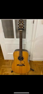 Guitarra acústica Álvarez con pastilla Seymour Duncan