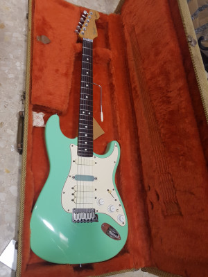 fender jeff beck stratocaster surf green 1991