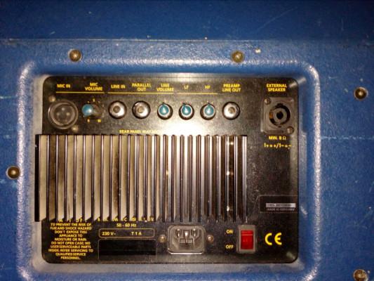 Cajas acústicas/monitores autoamplificados Work Pro Audio 150W