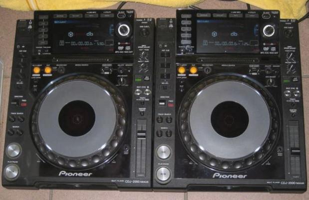 Pack de 2 Pioneer CDJ2000 NXS