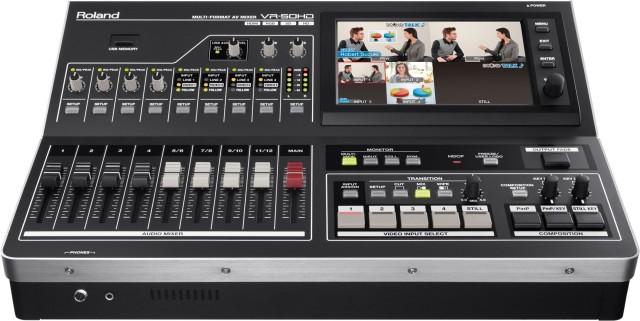 Alquilamos mezclador de vídeo Roland VR-50HD