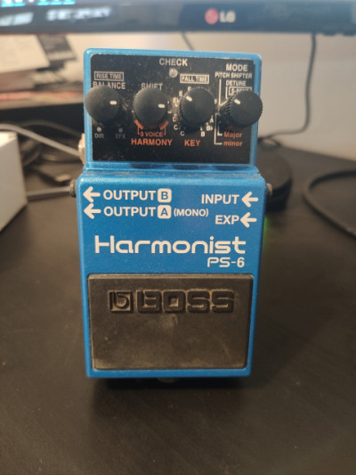BOSS PS-6 Harmonist con LED de alta visibilidad