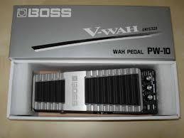 BOSS PW-10 WAH PEDAL