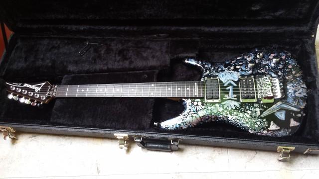Ibanez Joe Satriani JS100 Custom Paint+DIMARZIO Pickups+FLIGHCASE
