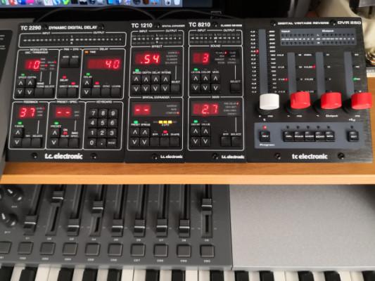 TC electronic DVR250-DT, TC1210-DT , TC2290-DT ,TC8210-DT controladores plugins de audio