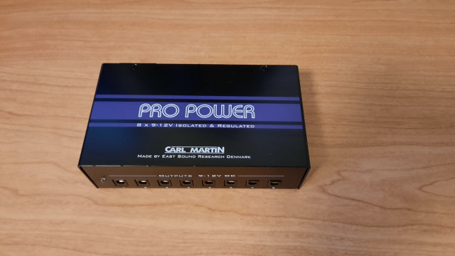 Fuente de alimentación Carl Martin Pro Power V1